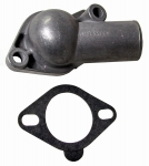 E9263 HOUSING-THERMOSTAT WITH GASKET-ALUMINUM-66-73