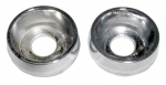 E9439 BEZEL-SPACER-HEATER KNOB-A-C OR NON A-C-CHROME-66-67