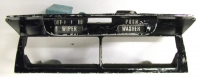 12519 BEZEL ASSEMBLY-CENTER AIR CONDITIONING DUCT-USED-73-76