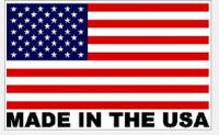 E21881 Badge-Hood Liner-Stainless Steel-C7 Crossed Flags-14-17