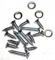 E11665 SCREW SET-14 PIECES-WINDSHIELD-TRIM MOLDING-78-82