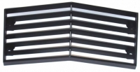 E12413 GRILLE-FRONT-CENTER-WITH BLACK EDGE-74
