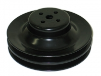 E12702 PULLEY-WATER PUMP-2 GROOVE-427-WITH OUT AIR CONDITIONING-67-68