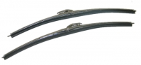 E13237 BLADES-WINDSHIELD WIPER-BRIGHT FINISH-STAINLESS STEEL-PAIR-63-67