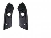 E13369 MOLDING-WINDSHIELD HEADER END-ROOF LATCH PLATE-NOS-PAIR-89-96