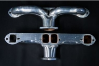 E13479 HEADER-CERAMIC COATED-1-3-4 INCH TUBING-2-1-2 INCH COLLECTOR-55-80