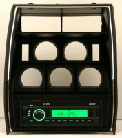 E13526 RADIO AND PLASTIC BEZEL-MILENNIA-WITH USB PORT-NO CD PLAYER-81-82