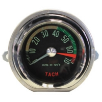 E13629 TACHOMETER-ASSEMBLY-DISTRIBUTOR DRIVE-6500 RPM RED LINE-61L-62