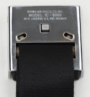 E14778 SEAT BELT SET-OE STYLE RETRACTABLE LAP-BOWTIE LIFT LATCH W-STAMPED BACK-COLORS-PR-65-E66