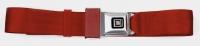 E14783 SEAT BELT SET-UNIVERSAL LAP-NON RETRACTABLE 60-METAL GM BUCKLE-COLORS-PAIR-68-96