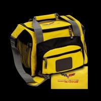 E15689 BAG-CORVETTE RACING DUFFLE COOLER-YELLOW