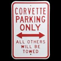E15786 SIGN-CORVETTE PARKING