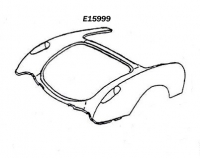 E15999 BODY-REAR UPPER-HAND LAID-56-60