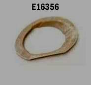 E16356 FLANGE-EXHAUST BEZEL-PRESS MOLDED-WHITE-RIGHT HAND-64-65