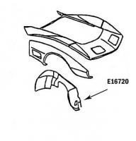 E16720 SKIRT-INNER-HAND LAYUP-RIGHT HAND-73-79