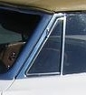 E17157 GLASS-VENT WINDOW-TINT-CONVERTIBLE-WITH DATE CODE-LEFT-63-67