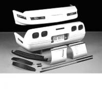 E18032 BODY KIT-WIDE MOLDING PACKAGE-FIBERGLASS-HAND LAYUP-ZR1 STYLE REAR LIGHTS-84-90