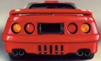 E18090 BODY KIT-WIDE-FIBERGLASS-HAND LAYUP-STALKER-SQUARE LIGHTS-91-96