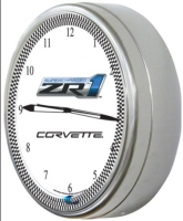 E18809 CLOCK-NEON-20-ZR1-SUPERCHARGED-C6