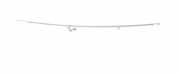 E18933 CABLE-CONVERTIBLE TOP-DECK LID RELEASE-WITH CLAMPS AND BOLTS-2 REQUIRED PER CAR-63-75