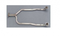 E19835 PIPE-EXHAUST-FRONT-Y PIPE-STAINLESS STEEL-84-85