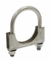 E20400 CLAMP-EXHAUST PIPE-2 INCH-STAINLESS STEEL-EACH-56-82