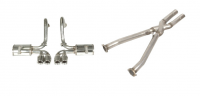 E20470 EXHAUST SYSTEM-MAGNAFLOW-TRUE DUALS-WITH CROSSOVER X-PIPE-97-04