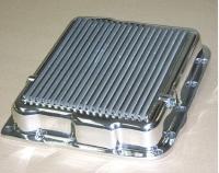 E20927 PAN-TRANSMISSION-POLISHED ALUMINUM-SAND CAST-GM 700R4, 4L60, 4L60E-84-96
