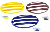 E22763 GRILL-TAIL LIGHT-IN COLOR-FOUR PIECES WITH HARDWARE-97-04
