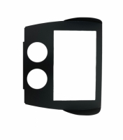 E23673 RADIO PLATE-DOUBLE DIN MOUNTING-WITH HOLES-USA-68-76