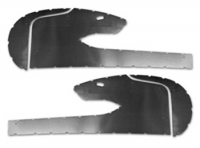 E3423 METAL TRIM SET-DOOR PANEL-WITH KICK PANELS-PAIR-58