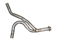 E3618 PIPE-EXHAUST-REAR-Y PIPE-ALUMINIZED-2.5 INCH-75