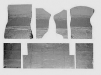 E4628B HEAT BARRIER KIT-UNDER CARPET-FRONT AND REAR-7 PIECES-78-82
