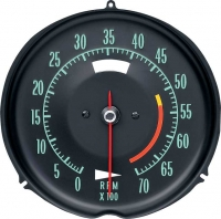 E6632A TACHOMETER-ASSEMBLY WITH 5300 RPM RED LINE-68