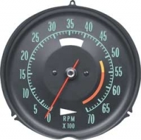 E6633 TACHOMETER-ASSEMBLY WITH 5500 RPM RED LINE-68