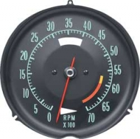 E6634A TACHOMETER-ASSEMBLY WITH 6000 RPM RED LINE-68