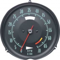 E6635A TACHOMETER-ASSEMBLY WITH 6500 RPM RED LINE-68
