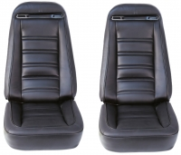E6963 COVER-SEAT-100% LEATHER-4 PIECES-72-74