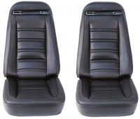 E6968 COVER-SEAT-100% LEATHER-4 PIECES-75