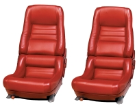 E7081 COVER-SEAT-LEATHER-VINYL-2 INCH BOLSTER-78 PACE-79-82