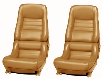 E7082 COVER-SEAT-100% LEATHER-2 INCH BOLSTER-78 PACE-79-82