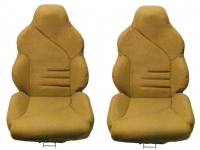 E7103 COVER-SEAT-100% LEATHER-MOUNTED ON FOAM-SPORT-94-96