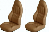E7153 COVER-SEAT-100% LEATHER-STANDARD-4 PIECES-97-04