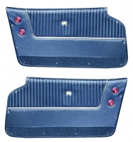 E7207 PANEL-DELUXE-WITH OUT ARM RESTS-CONVERTIBLE-PAIR-63-64