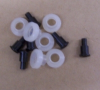E7596 ROLLER AND RIVET SET-12 PIECES-63-67