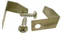 E8000 CLIP AND SCREW SET-DOOR WEATHERSTRIP END RETAINER-PAIR-56-E58