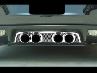 E21550 Panel-Exhaust-Corsa 3.5 Exhaust-Laser Mesh-Stainless Steel-05-13