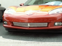 E21576 Grille-Front-Billet Style-Polished-05-13