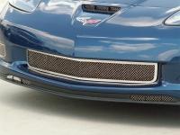 E21579 Grille-Front-Laser Mesh-Z06, Zr1, or GrandSport-Polished-06-13