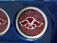 E21598 Light Cover-Tail Lights-Laser Mesh-Racing Flags-4 Pieces-05-13